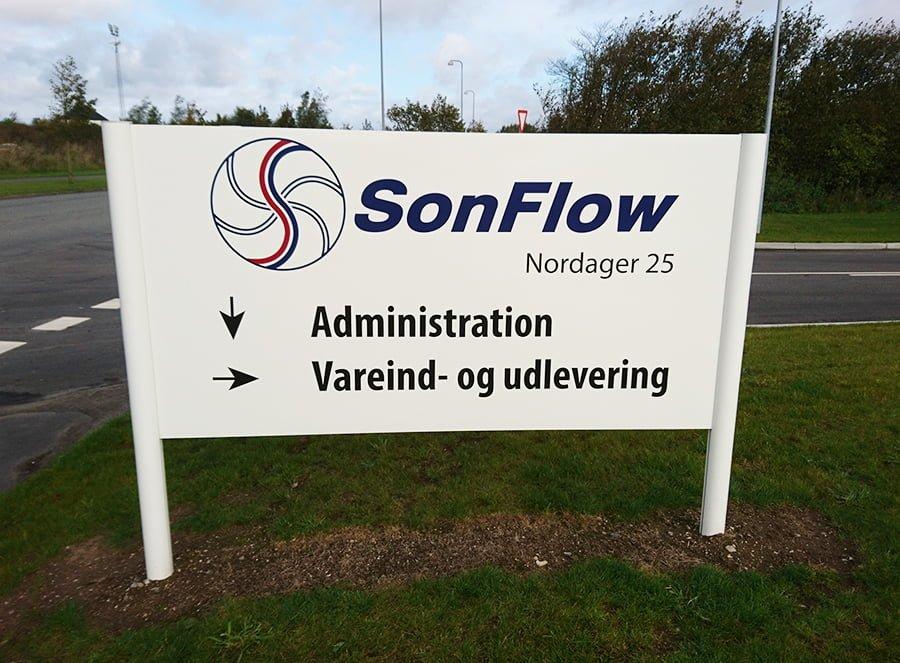 sonflow skilt-900