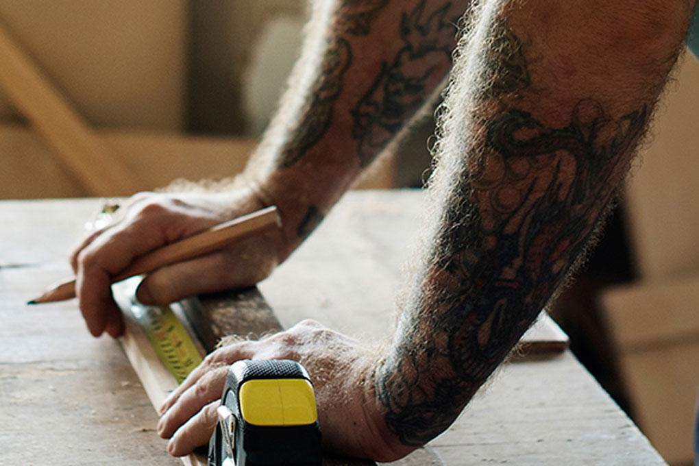 hv-reklame, håndværker, tilbud til håndværkere