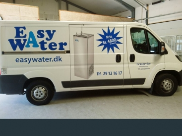 Bilreklame Easy Water
