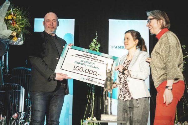 DONATION FRA FYNSKE BANK GÅR TIL BANEBRYDENDE BUTIK