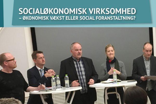 KONFERENCE VISTE BRED POLITISK OPBAKNING TIL SOCIALØKONOMISKE VIRKSOMHEDER