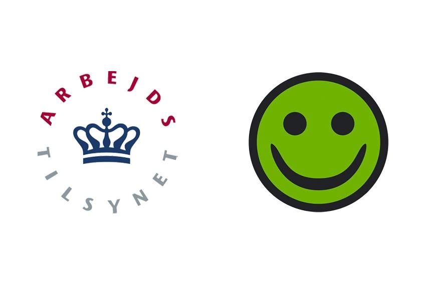 GRØN SMILEY TIL HUSET VENTURE STORKØBENHAVN