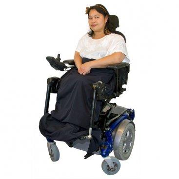 Lapcover/benvarmer til kørestolsbrugere